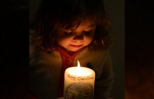 Versier je eigen kaarsenzak voor Kerst